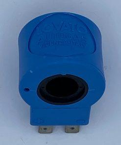 Autogas-LPG-Erastzteile-Lovato-Magnetspule-12v-8Watt-4065004-Blau-schwarze-Löcher-2