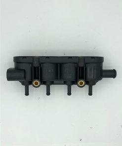 Autogas-LPG-Landirenzo-Ersatzteile-MED-Railhalter-4er-Gehäuse-mit-Sensorstutzen-2