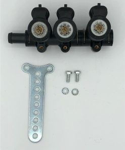 Autogas-LPG-Ersatzteile-Injektor-Rail-Lovato-3Zyl.-JLP4-EP-E13 67R-010194-238637000-1