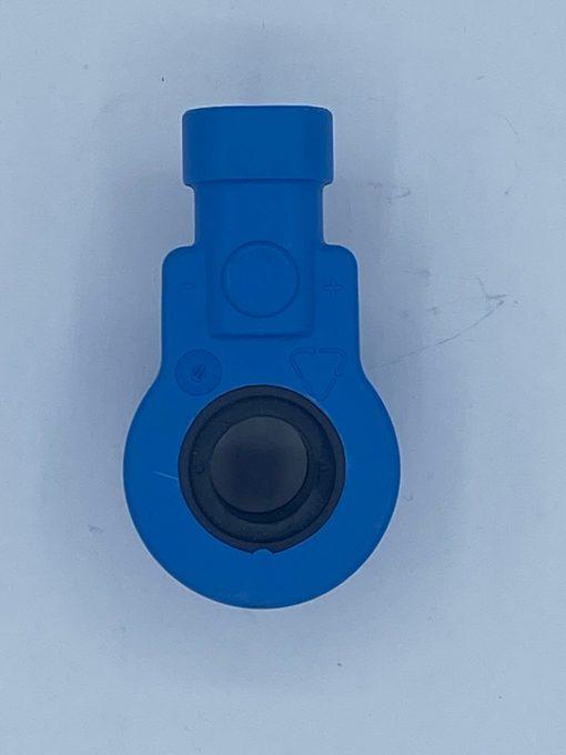 Autogas-LPG-Erastzteile-Lovato-Magnetspule-12v-8Watt-520001-Blau-schwarze-Löcher-mit-Steckeranschluss