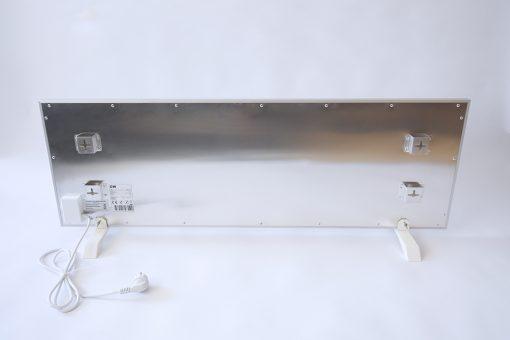 GlasWaermt-Infrarotheizung-Aluminium-IAP-1100Watt-Weiss-1400x600x20mm-Rueckseite