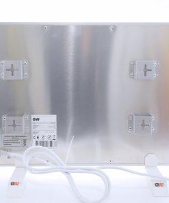 GlasWaermt-Infrarotheizung-Aluminium-IAP-300Watt-Weiss-600x300x20mm-Rueckseite