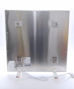 GlasWaermt-Infrarotheizung-Aluminium-IAP-450Watt-Weiss-600x600x20mm-Rueckseite
