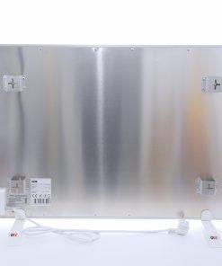 GlasWaermt-Infrarotheizung-Aluminium-IAP-700Watt-Weiss-900x600x20mm-Rueckseite