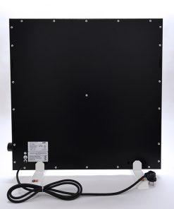 GlasWärmt-Infrarotheizung-Hybridboard-HB-schwarz-600Watt-600x600x40mm-Rückseite