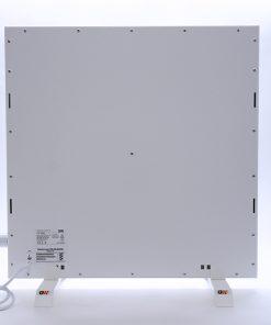 GlasWärmt-Infrarotheizung-Hybridboard-HB-weiß-600Watt-600x600x40mm-Rückseite