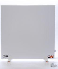 GlasWärmt-Infrarotheizung-Hybridboard-HB-weiß-600Watt-600x600x40mm-Vorderseite