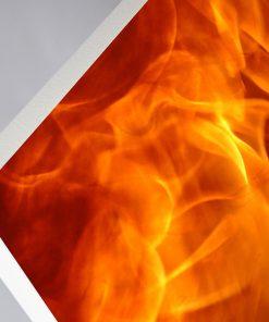 GlasWärmt-Infrarotheizung-Motiv-IMMP-450Watt-Flamme-600x600x25mm-Detail