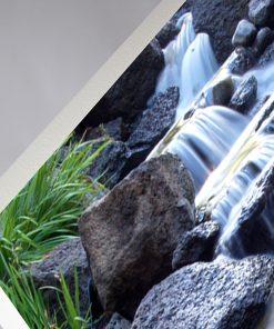 GlasWärmt-Infrarotheizung-Motiv-IMMP-450Watt-Wasserfall-600x600x25mm-Detail