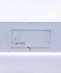 GlasWärmt-Infrarotheizung-Metall-IMP-weiß-1100Watt-1400x600x20mm-Rückseite