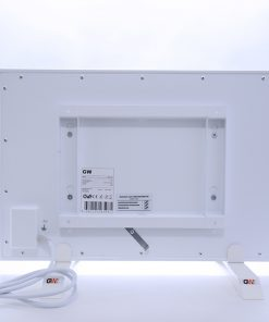 GlasWärmt-Infrarotheizung-Metall-IMP-weiß-300Watt-600x400x20mm-Rückseite