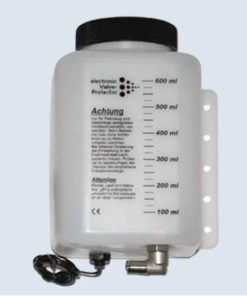 Frontgas Valve-P. Additivtank komplett 600ml