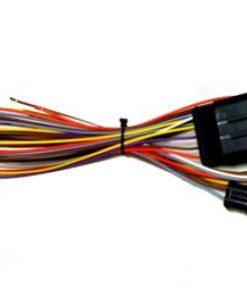 Frontgas Valve-P. Kabelbaum Typ Seq. Anschlussseite