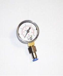 Frontgas Valve-P. Manometer zur Pumpendruckprüfung