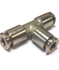 Frontgas Valve-P. Schnellsteck T-Verbinder 4mm