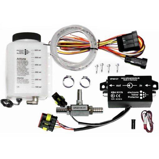 Frontgas_Valve_Protector_Kit-1_600ml_3Meter-Schlauch_Additivweiche-10mm_Rückschlagventil