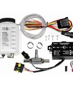 Frontgas_Valve_Protector_Kit-3_600ml_3Meter-Schlauch_Additivweiche-16mm_Rückschlagventil