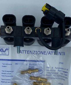 BIGAS-Rail-SGIS-4Zylinder-mit-Sensor-E20-67R-01049-DI-21F-2.0-Autogas-LPG-Ersatzteile-1