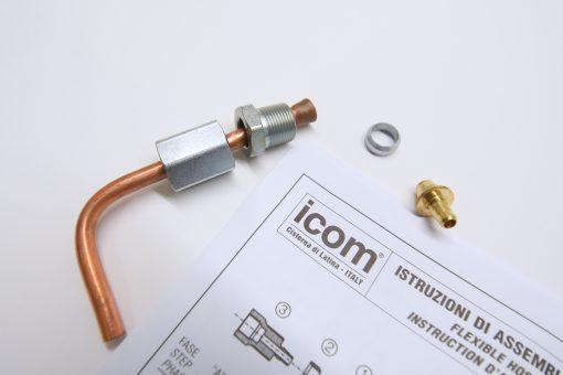 Frontgas_ICOM-Zulauf-Kit-3-16Zoll_6-Meter_inkl.-Anschluss-Adaptern_2